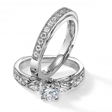 Diamond Bridal Set